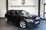 "USED 2014 64 BMW 1 SERIES 1.6 116I M SPORT 3DR 135 BHP full service history * NO ADMIN FEES * FINISHED IN STUNNING SAPPHIRE METALLIC BLACK WITH ANTHRACITE UPHOLSTERY + FULL SERVICE HISTORY + SATELLITE NAVIGATION + BLUETOOTH + XENON LIGHTS + CRUISE CONTROL + DAB RADIO + AUTO AIR CON + RAIN SENSORS + PARKING SENSORS + 18"" ALLOY WHEELS"
