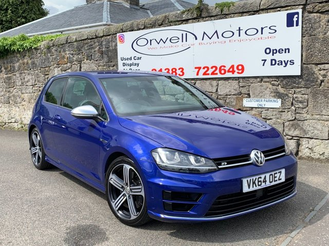 2014 Volkswagen Golf R Dsg £17,995
