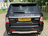 USED 2012 62 LAND ROVER RANGE ROVER SPORT 3.0 SDV6 HSE LUXURY 5d AUTO 255 BHP