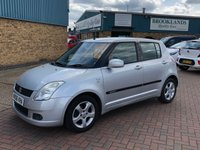 USED 2006 06 SUZUKI SWIFT 1.5 GLX VVTS 5d 101 BHP JUST ARRIVED AWAITING PHOTOS AND VIDEO AND WAITING TO BE CLEANED NEED ANYMORE INFORMATION PLEASE GIVE US A CALL ON 01536 402161