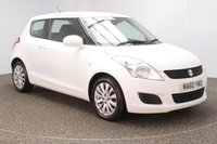 USED 2010 60 SUZUKI SWIFT 1.2 SZ3 3DR 94 BHP SERVICE HISTORY + £30 12 MOMTHS ROAD TAX + MULTI FUNCTION WHEEL + AIR CONDITIONING + RADIO/USB + ELECTRIC WINDOWS + ELECTRIC MIRRORS + 16 INCH ALLOY WHEELS