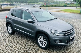 2012 VOLKSWAGEN TIGUAN 2.0 SE TDI BLUETECH 4MOTION 5d MANUAL 138 BHP £8495.00