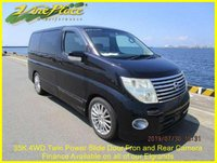 USED 2004 54 NISSAN ELGRAND Highway Star 3.5 4WD Auto, 8 Seats, 35K, Twin Power Door ONLY 35K and 4WD!+WINTER PACK