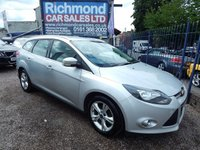 USED 2013 13 FORD FOCUS 1.6 ZETEC ECONETIC TDCI 5d 104 BHP 1 OWNER , FULL SERVICE HISTORY, GREAT ECONOMY,