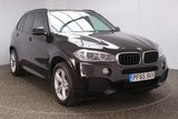 USED 2015 65 BMW X5 3.0 XDRIVE30D M SPORT 5DR 7 SEATS SAT NAV HEATED LEATHER SEATS 1 OWNER AUTO 255 BHP FULL SERVICE HISTORY + HEATED/COOLED LEATHER SEATS + 7 SEATS + SATELLITE NAVIGATION PROFESSIONAL + SURROUND VIEW CAMERA + PARKING SENSOR + BLUETOOTH + CRUISE CONTROL + CLIMATE CONTROL + MULTI FUNCTION WHEEL + ELECTRIC/MEMORY SEATS + PRIVACY GLASS + XENON HEADLIGHTS + DAB RADIO + ELECTRIC WINDOWS + ELECTRIC MIRRORS + 19 INCH ALLOY WHEELS