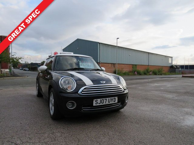 USED 2007 07 MINI HATCH COOPER 1.6 COOPER 3d 118 BHP A SUPER MINI