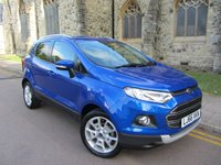 USED 2017 66 FORD ECOSPORT 1.5 TITANIUM 5d AUTO 110 BHP + AUTOMATIC + JUST SERVICED +
