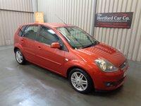 2007 FORD FIESTA 1.6 GHIA 16V 5d AUTO 100 BHP £2495.00