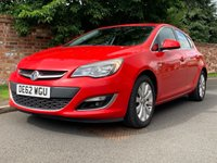 USED 2012 62 VAUXHALL ASTRA 2.0 ELITE CDTI 5d AUTO 163 BHP RARE AUTO, FULL SERVICE HISTORY, 1YR MOT, EXCELLENT CONDITION, ALLOYS, AIR CON, CRUISE,  RADIO CD, E/WINDOWS, R/LOCKING, FREE WARRANTY, FINANCE AVAILABLE, HPI CLEAR, PART EXCHANGE WELCOME,