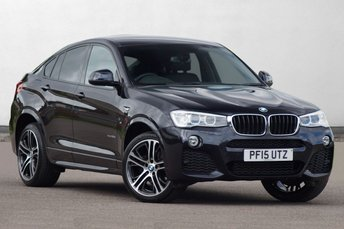 2015 BMW X4 2.0 XDRIVE20D M SPORT 4d 188 BHP