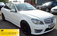 2013 MERCEDES-BENZ C CLASS 2.1 C220 CDI BLUEEFFICIENCY AMG SPORT 4d 168 BHP £10490.00