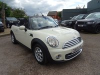 USED 2013 63 MINI CONVERTIBLE 1.6 COOPER 2d 122 BHP 1 PREVIOUS KEEPER *LOW MILES EURO RATE 6