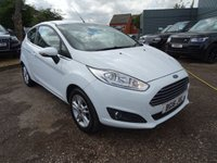 USED 2016 16 FORD FIESTA 1.2 ZETEC 3d 81 BHP ONE OWNER FROM NEW  *LOW MILES