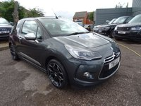 USED 2014 CITROEN DS3 1.6 BLUEHDI DSPORT PLUS 3d 120 BHP SERVICE HISTORY X2 KEYS AIR CON