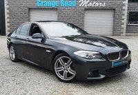 2012 BMW 5 SERIES 3.0 530D M SPORT 4d AUTO 255 BHP £12650.00