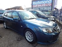 USED 2009 09 SAAB 9-3 1.9 LINEAR SE TID 5d AUTO 150 BHP FULL SERVICE HISTORY, GREAT ECONOMY,  ALLOYS, COLOUR CODED