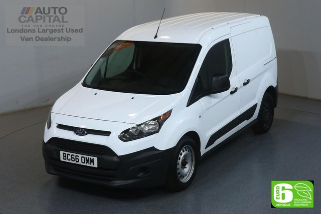 2017 66 FORD TRANSIT CONNECT 1.5 220 SWB 100 BHP EURO 6 ENGINE ONE OWNER, SERVICE HISTORY