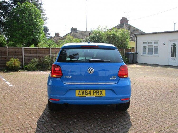 2014 Volkswagen Polo Sel TSI £8,000