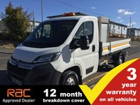 2015 CITROEN RELAY TIPPER 35 L2 130ps (w/Toolbox) £11750.00