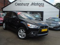 2012 MITSUBISHI ASX 1.8 DI-D 4 5d AWD + SAT NAV + FULL LEATHER 4X4 £7490.00