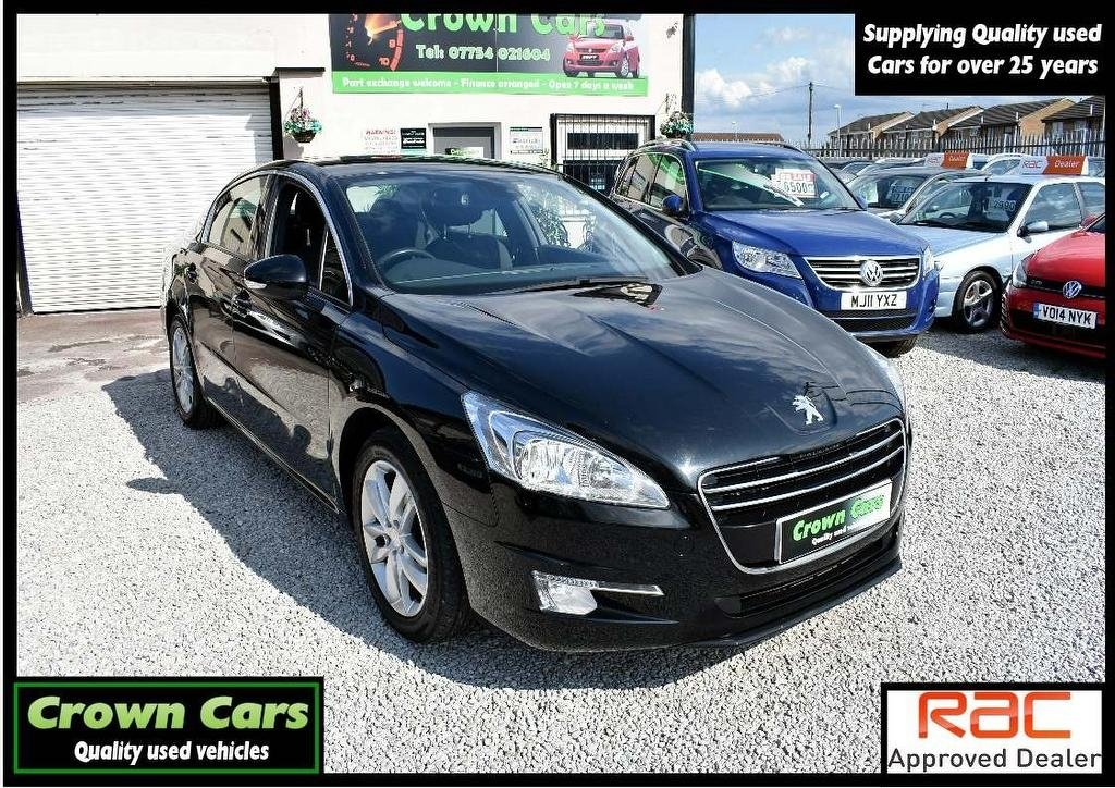 USED 2011 61 PEUGEOT 508 1.6 HDi FAP Active 4dr 3 MONTH WARRANTY & PDI CHECKS
