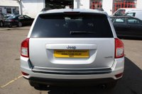 USED 2011 61 JEEP COMPASS 2.4 Limited CVT 4WD 5dr 1 LADY OWNER+AUTOMATIC+SAT NAV