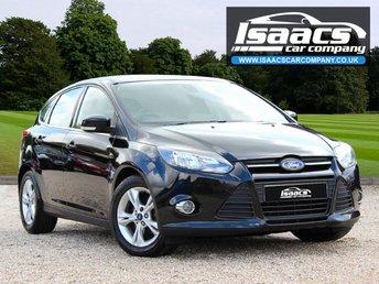 2013 FORD FOCUS 1.6 ZETEC 5d AUTO 124 BHP £5845.00