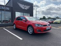 """USED 2014 14 VOLKSWAGEN GOLF 2.0 GT TDI BLUEMOTION TECHNOLOGY 5d 148 BHP This Stunning VOLKSWAGEN GOLF 2.0 GT TDI BLUEMOTION TECHNOLOGY in RED is All-Ready for you to """"Drive-Away"""" TODAY from our Big Selection of Over 150 Quality Used Vehicles. It has been Brilliantly Maintained by Previous Owner and is a Fantastic Drive. It has also Complemented by a Huge Spec from Factory Including   ALLOYS 