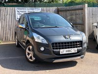USED 2010 60 PEUGEOT 3008 2.0 HDI EXCLUSIVE 5d 150 BHP FINANCE DECISIONS IN 60 SECONDS...