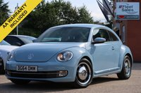 USED 2014 64 VOLKSWAGEN BEETLE 2.0 DESIGN TDI DENIM OPTICAL FRONT AND REAR PARKING SENSORS + FINANCE AVAILABLE