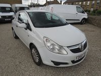2011 VAUXHALL CORSA 1.3CDTI 73 BHP VAN WITH AIR CONDITIONING £2995.00