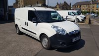 2014 VAUXHALL COMBO 2300 1.6CDTI 105 BHP L2 LWB VAN WITH TWIN SIDE DOORS £4995.00