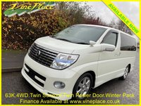 2007 NISSAN ELGRAND Highway Star Urban Selection Premim 2.5 Automatic,4WD, Sunroof,8 Seats, 63k £9000.00