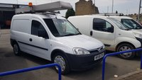 2008 VAUXHALL COMBO 2000  1.3CDTI 73 BHP Ex- BT VAN WITH SIDE DOOR £2995.00