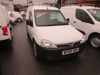 USED 2009 09 VAUXHALL COMBO 2000 1.3 CDTI 73 BHP EX-BT VAN WITH SIDE LOAD DOOR ONE OWNER - FSH - 99000m