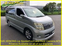 2005 NISSAN ELGRAND Highway Star 2.5 Automatic,8 Seats, 54k £7500.00