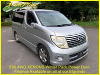 2005 NISSAN ELGRAND Highway Star 2.5 4WD,Automatic,8 Seats, 53k £8500.00