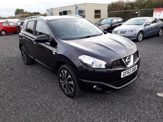 2012 62 NISSAN QASHQAI 1.5 N-TEC PLUS DCI 5d 110 BHP LOW MILEAGE WITH SERVICE HISTORY