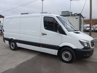USED 2014 14 MERCEDES-BENZ SPRINTER 313 CDI MWB HI ROOF, 130 BHP [EURO 5]