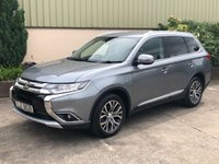 USED 2016 MITSUBISHI OUTLANDER 2.3 DI-D GX 3 5d 147 BHP IMMACULATE, 7 SEATS, LOW MILES, FULL SERVICE HISTORY