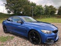2014 BMW 4 SERIES 2.0 420D M SPORT 2d AUTO 181 BHP £15495.00