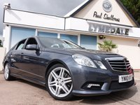 USED 2010 10 MERCEDES-BENZ E CLASS 3.0 E350 CDI BLUEEFFICIENCY SPORT 4d AUTO 231 BHP