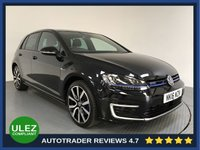 USED 2016 16 VOLKSWAGEN GOLF 1.4 GTE 5d AUTO 150 BHP FULL VW HISTORY - HYBRID - PARKING SENSORS - AIR CON - BLUETOOTH - DAB - CRUISE - AUX / USB
