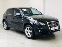 USED 2010 10 AUDI Q5 2.0 TDI QUATTRO [NAV] S LINE 5d 168 BHP LOW MILES + FULL HISTORY + FULL LEATHER + SAT NAV + PRIVACY GLASS