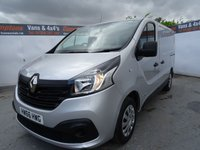 2016 RENAULT TRAFIC 1.6 SL27 BUSINESS PLUS DCI 1d 120 BHP £11995.00