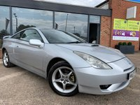 USED 2003 03 TOYOTA CELICA 1.8 VVT-I 3d 140 BHP FANTASTIC CONDITION! FULL SERVICE HISTORY! COME WITH 2 KEYS, MOT UNTIL 25TH MAY 2020. HAS ONLY JUST BEEN SERVICED!