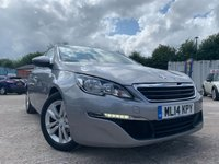 USED 2014 14 PEUGEOT 308 1.6 HDI ACTIVE 5d 92 BHP PARKING+0ROADTAX+LOWMILE+HISTORY+