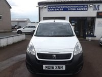USED 2016 16 PEUGEOT PARTNER 1.6 BLUE HDI PROFESSIONAL L1 1d 100 BHP
