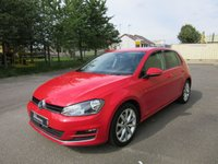 USED 2013 63 VOLKSWAGEN GOLF 1.4 GT TSI ACT BLUEMOTION TECHNOLOGY 5d 140BHP 1 OWNER FULL VW SERVICE HISTORY