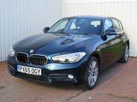 USED 2015 65 BMW 1 SERIES 1.5 116D SPORT 5d 114 BHP £20 PER YEAR ROAD TAX